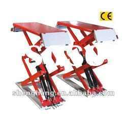 1800mm 2000kgs Scissor hydraulic car lift cheap car lifts lifting equipment QDSH-S2718A