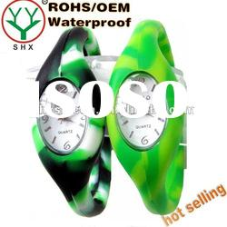 2011 fashion colorful silicone ion sport watch