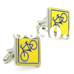 2012 Fashion Men's Stainless Steel Cufflink