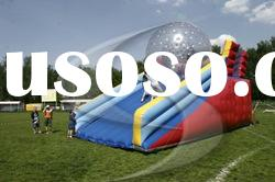 2012 Most exciting sport game inflatable zorb ball/zorb slide