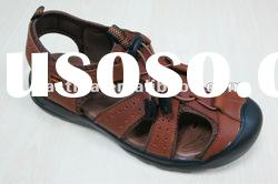 2012 NEW Trendy men leather sole sandals
