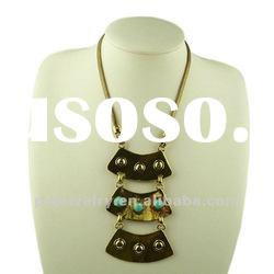 2012 New Design Gold-plated Alloy Zinc Necklaces Jewelry