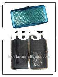 2012 fashion metal material lady wallet & special gift