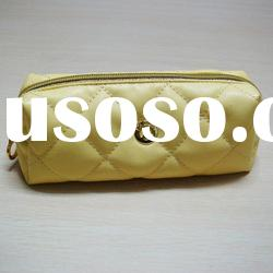 2012 hot sale designer high quality pu sewing cosmetic bag