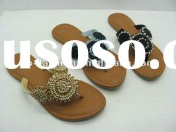 2012 ladies fashion flip-flop dress slippers (ZW2277)