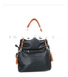 2012 new design genuine leather fashion casual women lady leather handbag