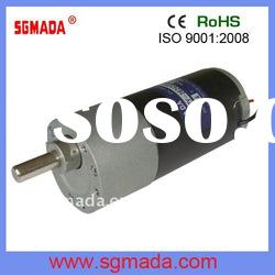 24VDC high torque low rpm gear motor