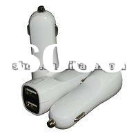 3.1A dual usb car iphone charger with best quality