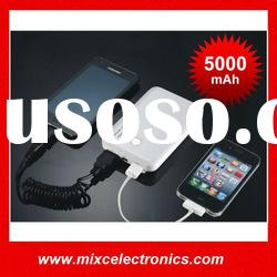 5000mAh Power Bank with Dual USB Output for mobile phone