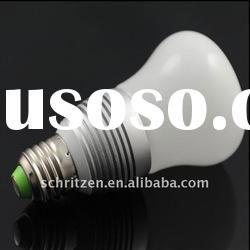 7W High power E27 interior led bulb 220V Epistar 3W Glass lampshade led global light bulb