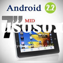 7 inch GSM phone call android 2.2 cheapest tablet