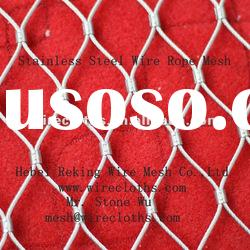 7x7 Stainless Steel 304 Wire Rope Mesh for Architecture
