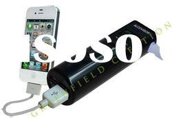 Alcohol Tester combined with USB Portable Power Bank