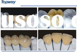 All porcelain/ceramic Dental Cercon/Zirconia Crown and bridge