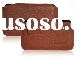 Brown Genuine Leather Case for Galaxy Note i9220