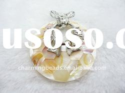 CH-JHP0009 natural pearl shell pendant