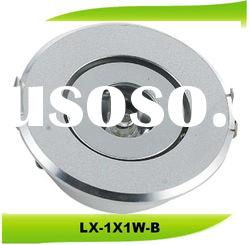 Dimmable 1X1W adjustable LED Downlight