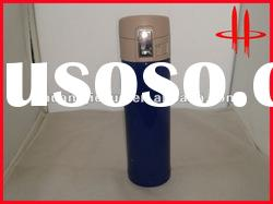 Double wall stainless steel tumbler with lock