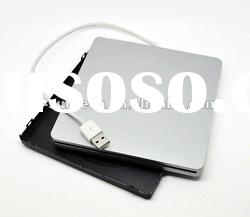 External ultra-slim slot-in DVD RW burner drive case/ caddy