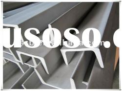 Factory direct sale, 201,304,304L,316,316L,310,310S,430,430F hot rolled stainless steel channel