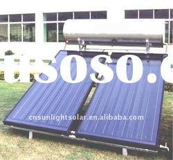 Flat Panel Collector solar water heater