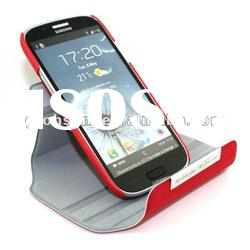 For Samsung Galaxy S3 Leather Case 360 Degree Rotation