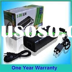For XBOX360 slim ac adapter/charger/power supply in color box/EU,US,UK plug