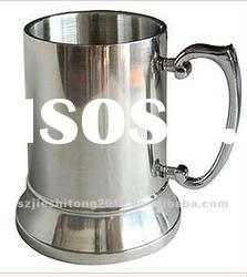 Good quality 18/8 double wall stainless steel mug