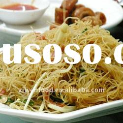Green food rice noodle