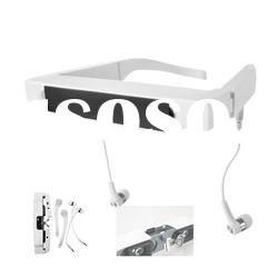 High definition video 3D glasses player mobile theatre