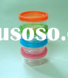 High quality 4-pc food containers plastic