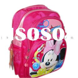 High quality school bag printed with lovely logo