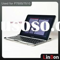 Hot Selling Aluminum Bluetooth Keyboard Case For galaxy note BK606
