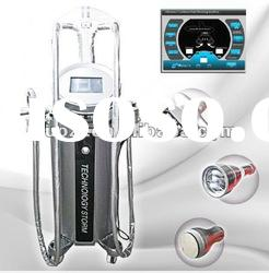 Hot!! Vacuum Cavitation Used Beauty Salon Equipment With RF Roller