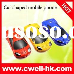 Hot sale dual SIM car model mobile phone F699 flip car phone