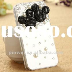 Hot selling 3D Mickey Mouse design iphone 4s cases IC00029