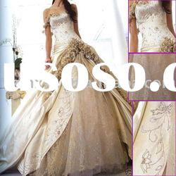 J67 Free Gift One mother dress and One evening Gown Luxury Strapless Wedding Dress