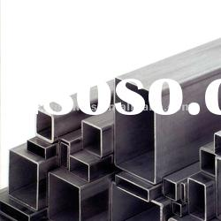 MS ERW Black Rectangular And Square Hollow Section Steel Pipe/Tubes (RHS/ SHS)
