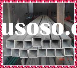 MS ERW black Square Hollow Section steel tube/pipe