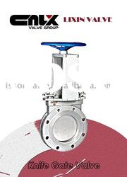 Manual Stainless Wafer Knife Gate Valve
