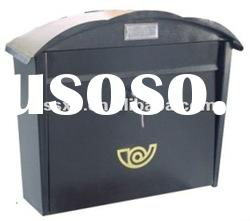 Metal with newspaper facility mailbox mail box/letter box/post box/parcel box/delivery box