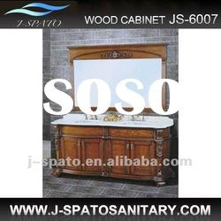 Modern double vanity cabinets JS-6007