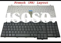 New Notebook Laptop keyboard for Inspiron 1750 Black French FR Version - NSK-DN00F