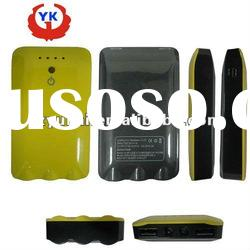Newest power product 7500mah Dual usb mobile power bank For iphone and ipad