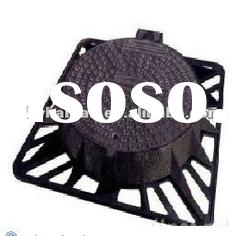 OEM casting foundry cast iron square water well covers