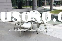 Outdoor portable square plastic folding table