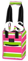 Polyester Wine Cooler Bag with Zip for Wine, Can, Frozen and Hot Food