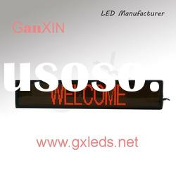 Red indoor high quality aluminum frame flexible led curtain display