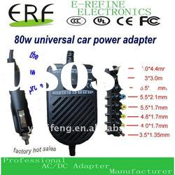 Replacement 80W Laptop universal dc charger for car use