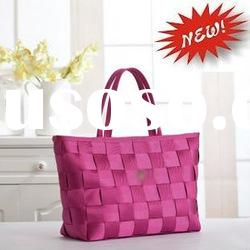 SKB367 2012 new fashion on sale leisure woven shopping bag